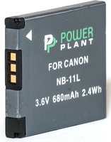 Аккумулятор PowerPlant Canon NB-11L 680mAh
