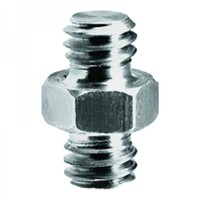 "Manfrotto 125 Short Adapter Spigot 3/8""+ 3/8"" Screw"